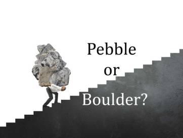 Pebble-or-boulder